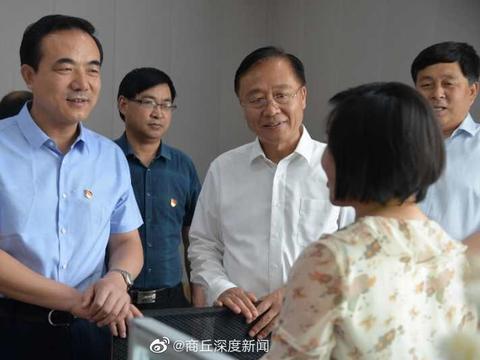 商丘市副市长曹月坤到豫东牧业有限公司调研产业扶贫工作