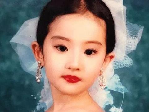 8位女星的童年照,谢娜、赵丽颖,谭松韵谁萌到你了?