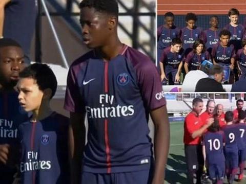 法媒:拜仁、多特和莱比锡争夺巴黎15岁后卫,球员身高1米95