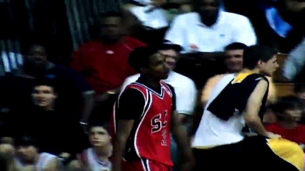 进NBA前的詹宁斯,打球真叫一个灵动潇洒