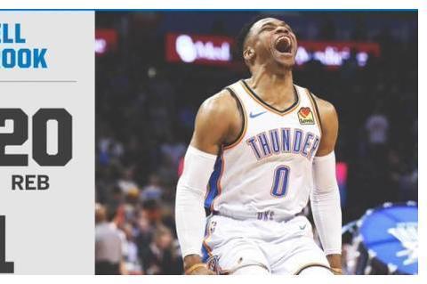 NBA近五年神级单场表现!威少三20+,哈登超级三双,都不及榜首