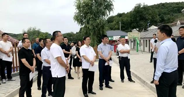 """天水市委办公室党员干部赴清水县开展""""主题党日""""活动"""