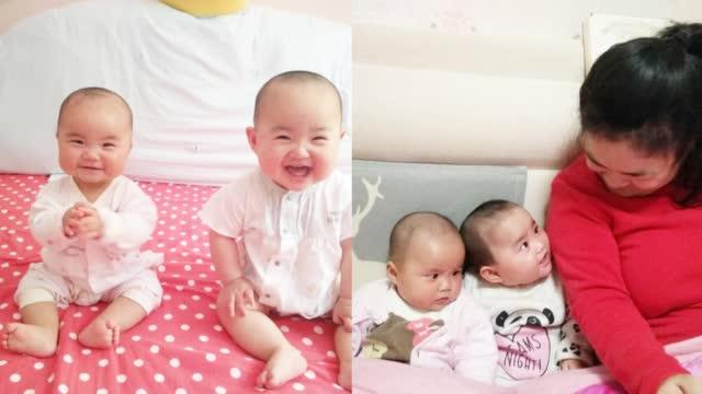 脑瘫妈妈辗转3家医院诞下双胞胎 完成当母亲梦想