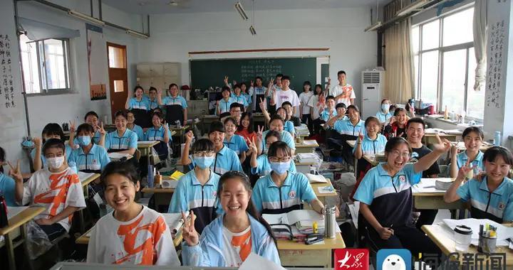 高考进入倒计时 滨州学子努力拼搏的样子真美