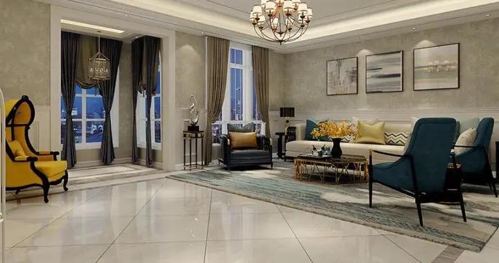 300平米的简美风装修,这套五居室简直就是让人宁静的心灵港湾-泰和盛景装修