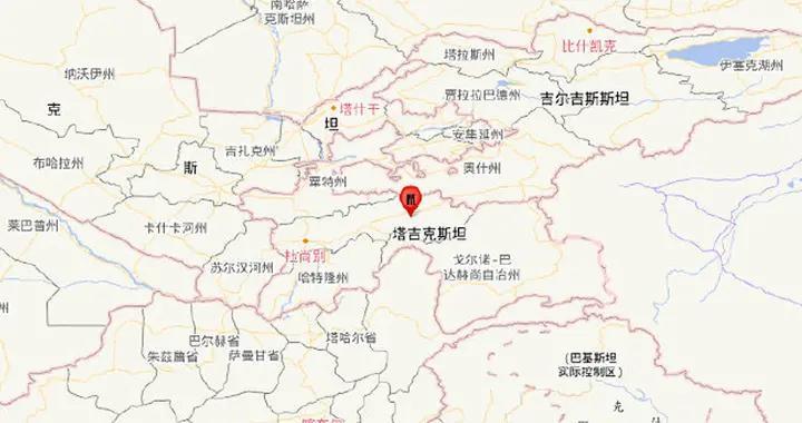 塔吉克斯坦发生5.5级地震,震源深度10千米