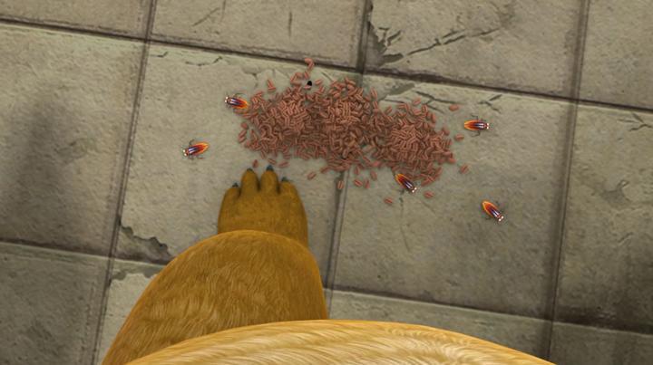 熊出没:强哥和小强果然是一家人,豆子里都是蟑螂,就这还要吃呢