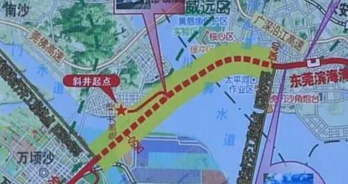 深江铁路珠江口隧道在东莞虎门开工