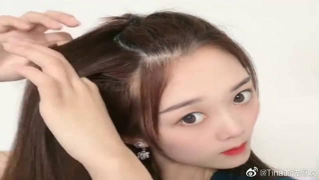 沈梦辰同款编发来了,简单又洋气,这才是女神该有的发型!