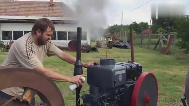 看看美国农民用的拖拉机,和我们用的有区别吗