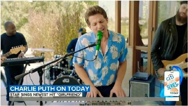 断眉Charlie Puth最新GMA远程表演主打新单「Girlfriend」💁
