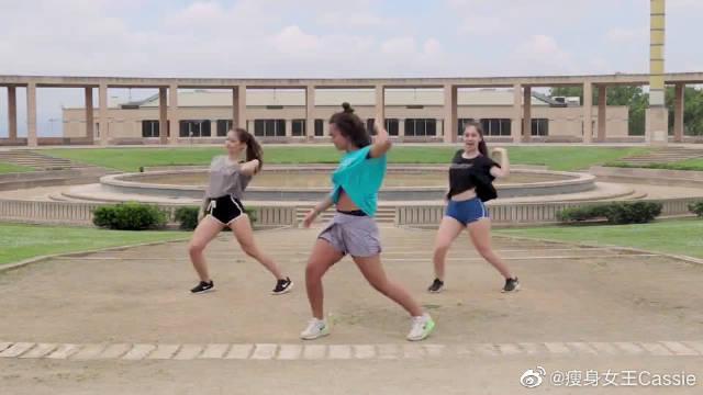 动感尊巴舞健身跳起来,让你快速减脂!