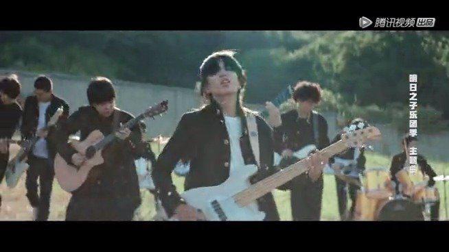 释出预告片!此次《明日之子》乐团季主题曲MV以热血高校为主题……