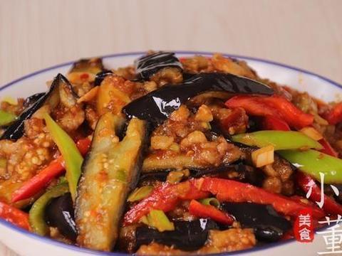 鱼香茄子的家常做法,步骤简单,配方详细,5分钟就学会