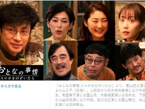 日本版《完美的陌生人》明年一月上映:東山紀之,铃木保奈美主演