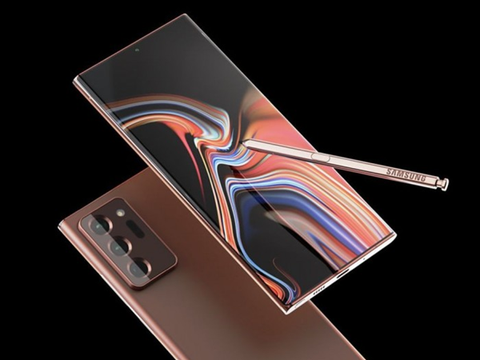 三星Galaxy Note 20 Ultra效果图曝光:全新配色吸睛