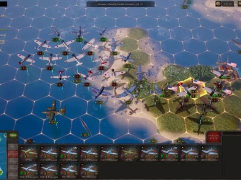 一款超硬核二战题材回合制军事战争策略游戏