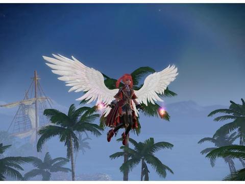 全网游戏花样飞行玩法大盘点,一梦江湖好看,而这款最自由
