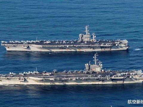 美海军三航母亚太虚晃一枪,罗斯福号噩梦连连,又有船员不治身亡