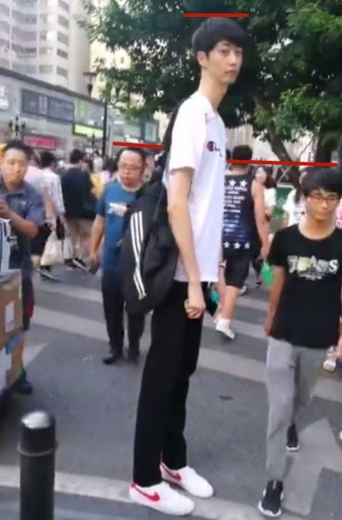 男子蹲在路边等红绿灯,众人以为他是残疾人,之后的画面笑喷了