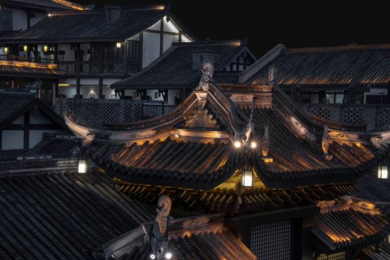 """重庆又一古镇走红,人称仿建界的""""小丽江"""",夜景胜于洪崖洞"""