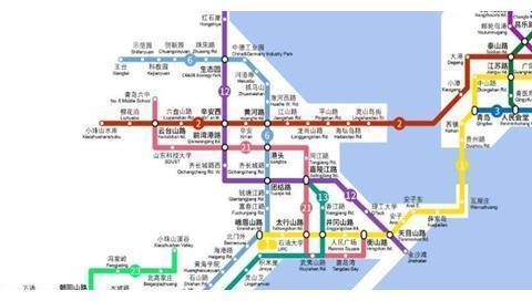 青岛又建一条地铁骨干线,覆盖西海岸新区,协调沿线城区均衡发展