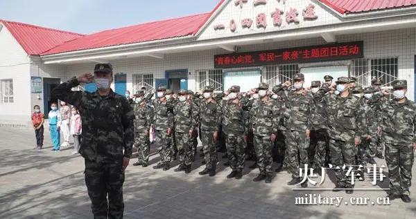 武警兵团总队执勤第一支队:为定居牧民搭建增收致富平台