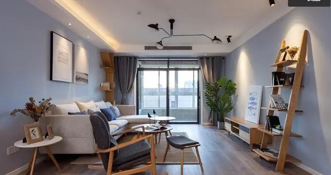 宛如仙境的装修,梦幻的北欧风,95平米的三居室了解一下-书香溪墅装修