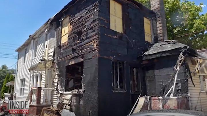 锅得自己背!美国男子非法燃放烟花 结果引燃自家房屋被捕