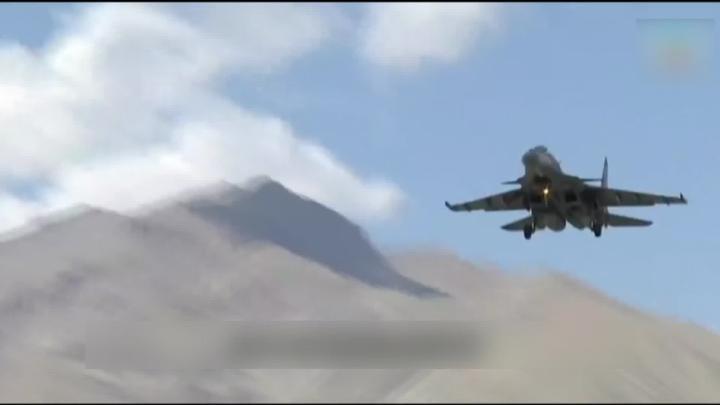 印度空军接壤中国边境军演 指可随时支援任何军事行动