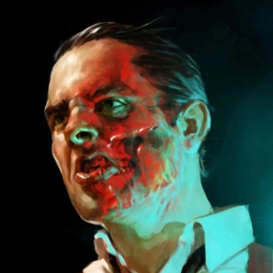 红骷髅早期概念图曝光,一半脸部皮肤融化