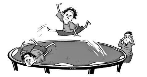 洒脱中别忘安全!蹦床玩家缺乏风险认识易受伤 产生损伤纠纷调解难