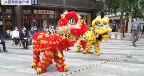 英国放宽疫情封锁措施 伦敦中国城重新迎客