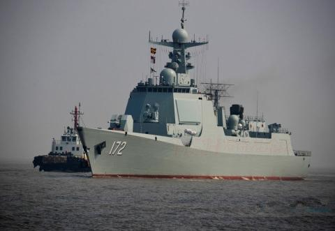 美媒:052D舰演习中撕掉伪装暴露真实力美舰长:已经向白宫报告