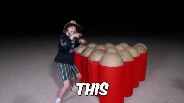 YouTube一位UP主花费16000美元的烟花秀……