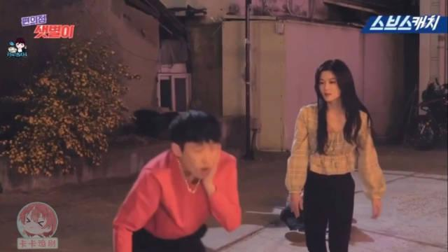金裕贞x池昌旭x花絮 别看新星在剧里是个能打的女子……