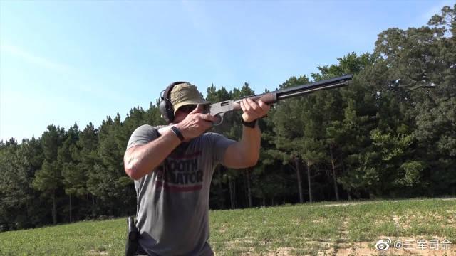 性能可靠稳定的杠杆步枪,老外对它爱不释手,通常都用它打靶子