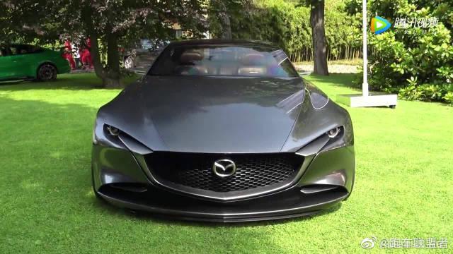 帅!马自达 Vision Coupe概念 这霸气声浪太迷人了!