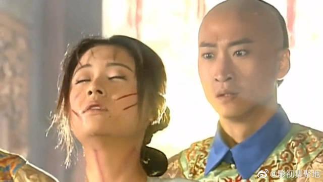 紫薇晕倒的瞬间,你还记得皇阿玛和尔康的反应吗?