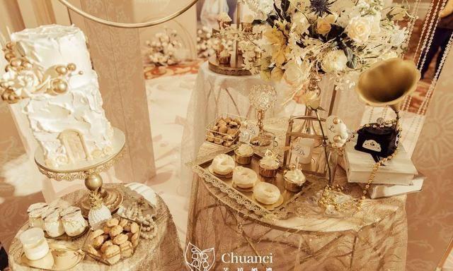 香槟味道的爱情,办一场温柔的香槟色婚礼