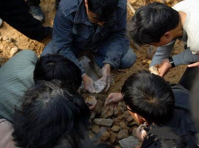 村民们因一个消息纷纷到后山寻宝,结果让他们想不到!