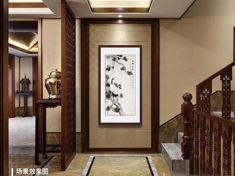 走廊可以挂什么画 吉祥如意花鸟画清新淡雅