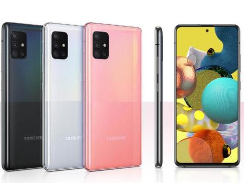 三星A51表现不俗,5G手机配6.5英寸AMOLED屏,价格时有惊喜