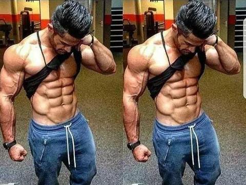 减脂成功腹肌却还不来,6个动作全面虐腹,帮你练出结实腹肌