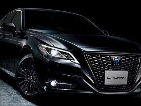 最帅气的新款丰田皇冠!混动技术+全新外观,新造型比A6还霸气