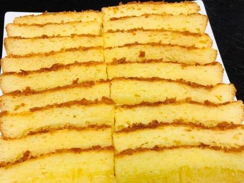 木薯粉别只用来做芋圆,试试这新做法,色泽金黄,口感柔韧超好吃