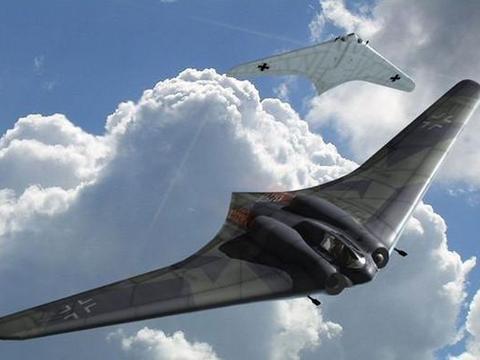 现代轰炸机鼻祖,二战纳粹的黑科技,HO-229轰炸机还好没有应用