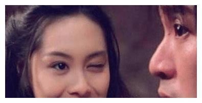 有种可惜叫朱茵的女儿,只怪黄贯中基因太强大,长得像盗版紫霞