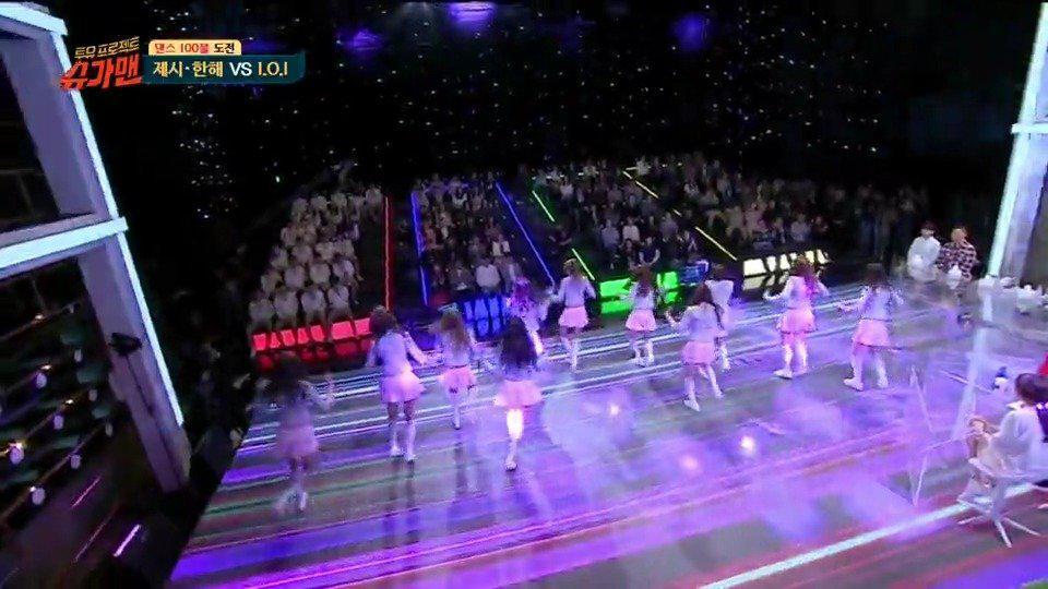 韩国produce101主题曲舞蹈, 当年也参加了这个节目