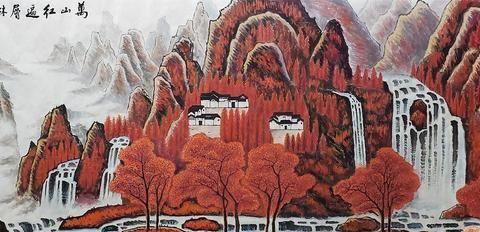 画家蒋伟艺术作品:只有观百态人生,方能造就璀璨佳作